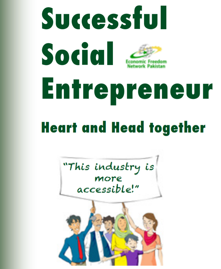 Successful Social Entrepreneur Heart and Head Together